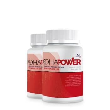 DHA POWER - 2 Potes Lit