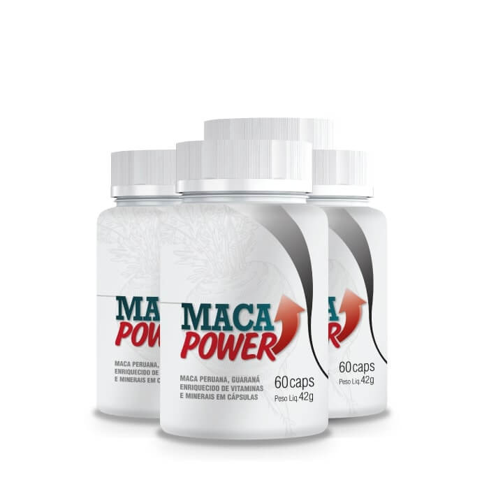 Maca Power - 4 Potes